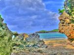 ハイダイナミックレンジ写真 - プライベートビーチ@西表島