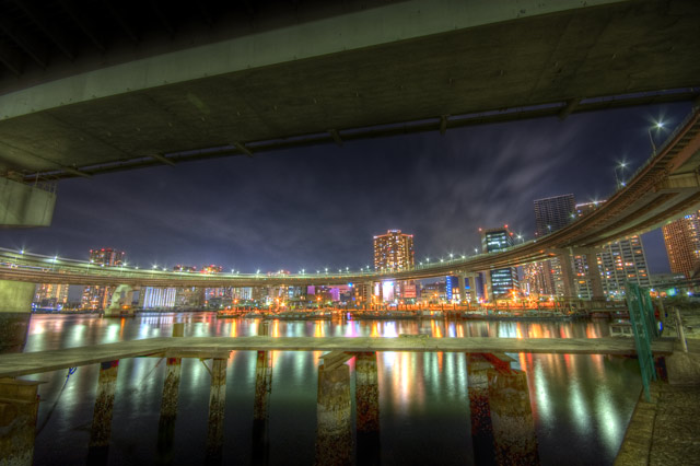 HDR(ハイダイナミックレンジ)レインボーベイ@芝浦東京bridge007.jpg