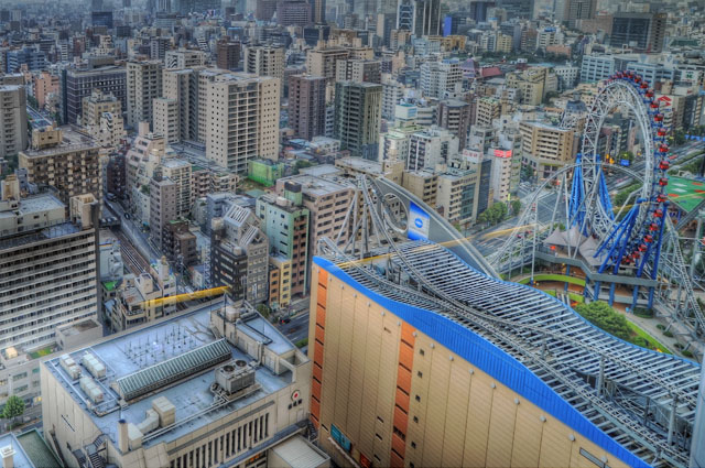HDR(ハイダイナミックレンジ)25階展望台より@文京シビックホールbuilding134.jpg