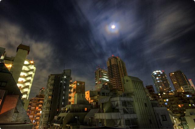 HDR(ハイダイナミックレンジ)屋上夜景@大塚building15.jpg