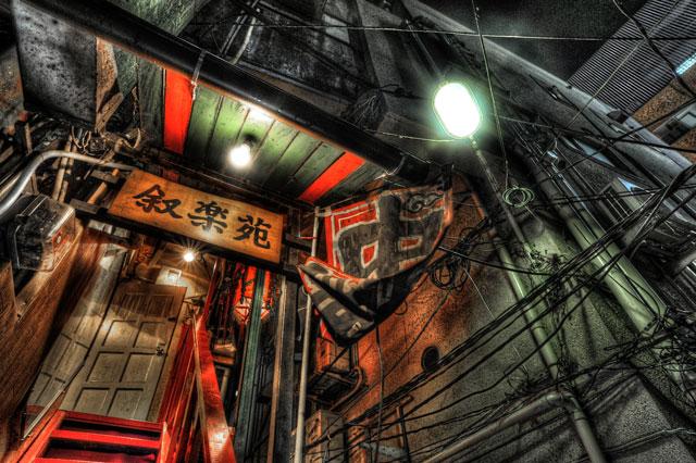 HDR(ハイダイナミックレンジ)叙楽苑@新宿歌舞伎町