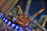 ハイダイナミックレンジ写真 - 話題の大橋ジャンクション@池尻大橋