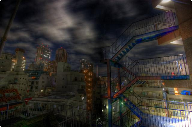 HDR(ハイダイナミックレンジ)怪談夜景@大塚building22.jpg