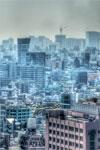 ハイダイナミックレンジ写真 - ニコンプラザ新宿よりの眺め