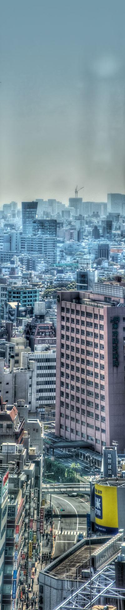 ニコンプラザ新宿よりの眺め