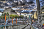 HDRといえばやっぱ雲でしょっ@渋谷