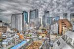 ハイダイナミックレンジ写真 - HDR低速度撮影ムービー@中目黒の空