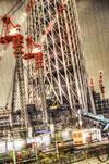 ハイダイナミックレンジ写真 - 押上タワー
