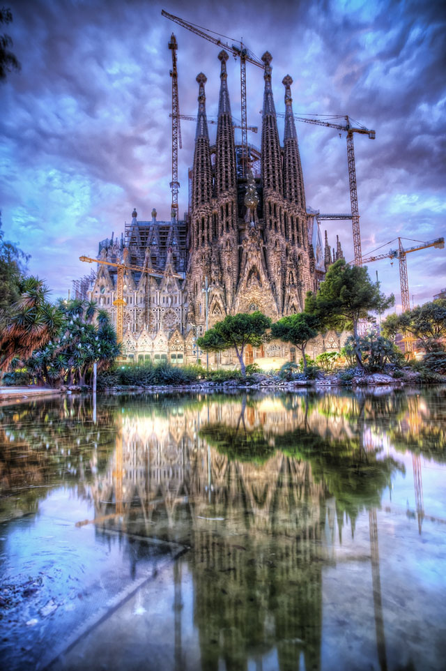 La Sagrada Famlia ver. 2011