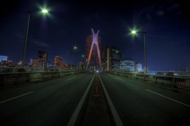 HDR(ハイダイナミックレンジ)越中島公園の周辺ぶらり3@月島東京building51.jpg
