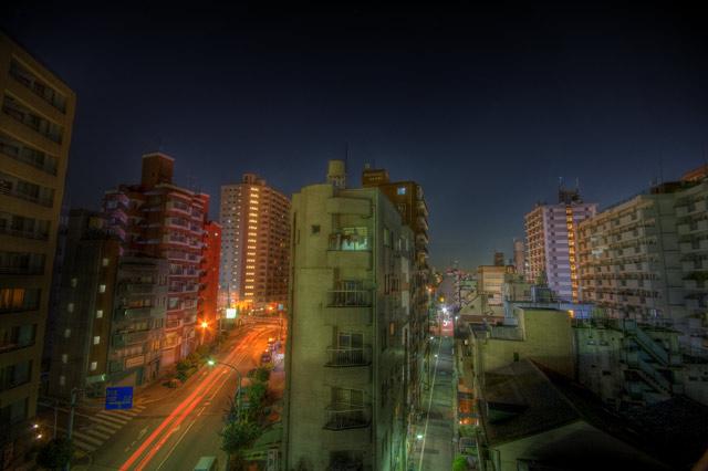 HDR(ハイダイナミックレンジ)とあるビルの屋上@池袋building63.jpg