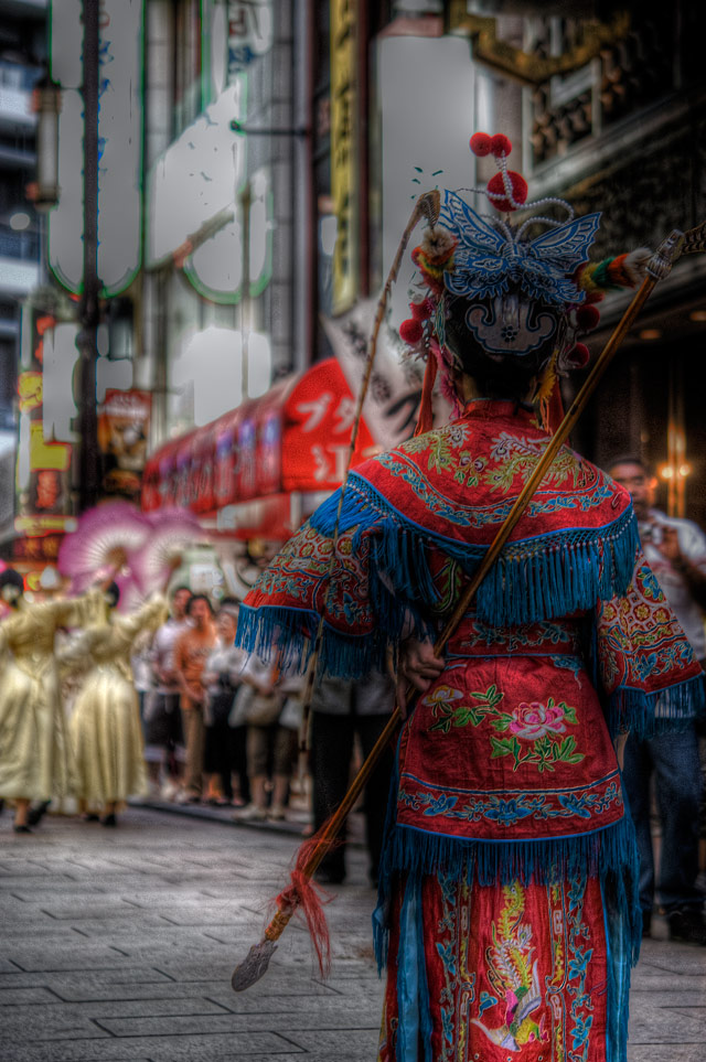 HDR(ハイダイナミックレンジ)関聖帝君祭典@横浜中華街festa01.jpg