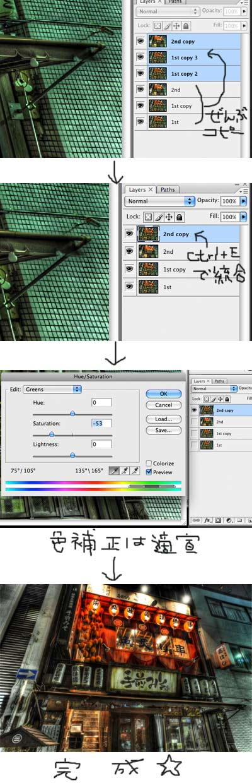 photoshopHDR製作フロー:完成品