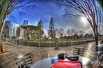 ハイダイナミックレンジ写真 - 国立新美術館のカフェテラス