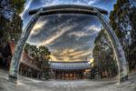 ハイダイナミックレンジ写真 - 去年の靖国神社と雲