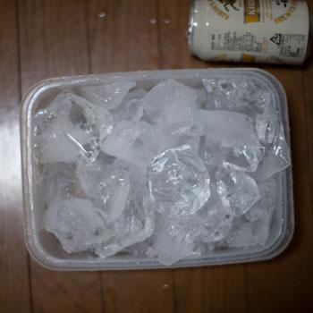 まとめて冷凍庫に保管