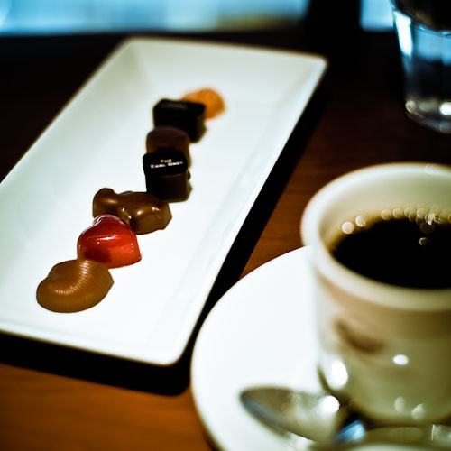ピエールマルコリーニ食べ放題の7種類とコーヒー