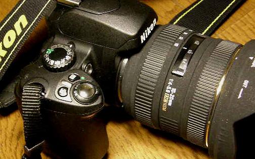 Nikon D40 + SIGMA10-20mm F4-5.6 EX DC/HSM