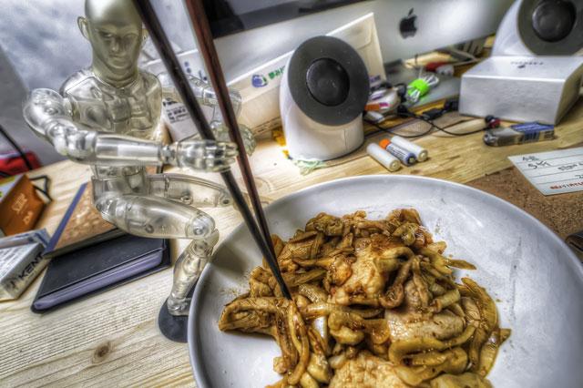 タモリの生姜焼きを秋アレンジしてパワーアップッ!