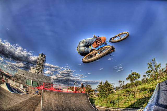 BMXライダー植山周志さんを撮影させていただきました!