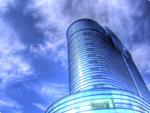 ハイダイナミックレンジ写真 - まんだらけの近くのビルを見上げて@池袋