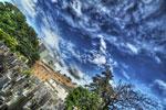 ハイダイナミックレンジ写真 - イギリスしゃちほこ雲