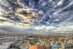 ハイダイナミックレンジ写真 - 雲のレイヤー@足立区のどこか