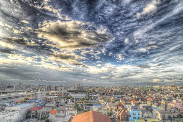 雲のレイヤー@足立区のどこか