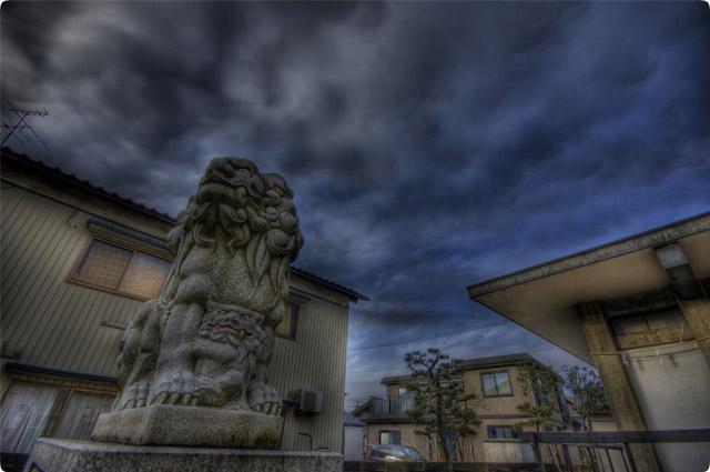 HDR(ハイダイナミックレンジ)寺・神社(狛犬)3連発2nd@福井temple13.jpg