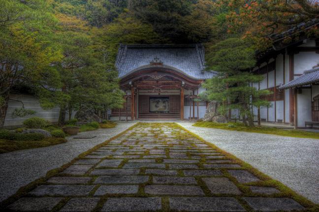 HDR(ハイダイナミックレンジ)南禅寺の一角@京都temple76.jpg