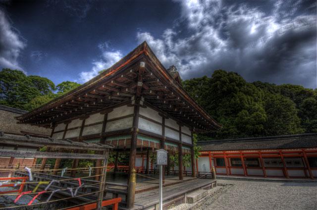 HDR(ハイダイナミックレンジ)下鴨神社@京都temple89.jpg