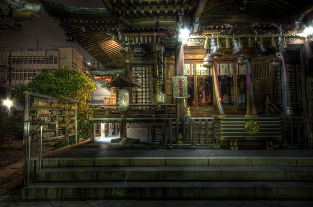 HDR(ハイダイナミックレンジ)大鳥神社@中目黒temple93.jpg