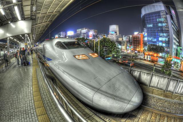 新幹線700系電車@名古屋