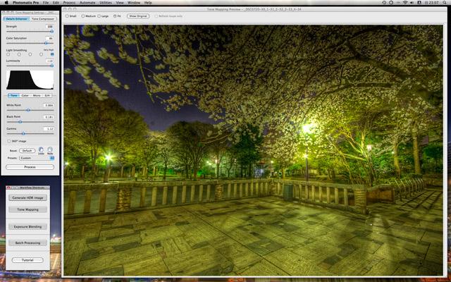 Photomatix Proバージョン3スクリーンショット