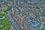ハイダイナミックレンジ写真 - 25階展望台@文京シビックホール