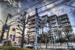 ハイダイナミックレンジ写真 - 久しぶりに建物@駒沢