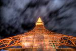 東京タワー覗き見る@赤羽橋
