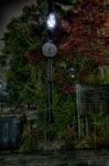 ハイダイナミックレンジ写真 - 真夜中の時計@中目黒