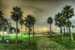 ハイダイナミックレンジ写真 - うるわしの潮風公園