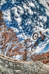 ハイダイナミックレンジ写真 - 植山周志さんとヒップ@駒沢公園