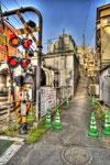 ハイダイナミックレンジ写真 - 好きです神泉駅の踏切