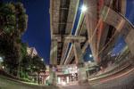 ハイダイナミックレンジ写真 - 自転車で夜中散輪してるとこういうネタが頭を駆け巡ります@港北